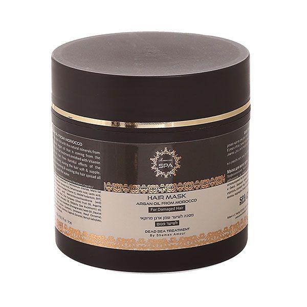 Маска для поврежденных волос с маслом марокканского аргана Shemen Amour (Шемен Амур) 250 мл