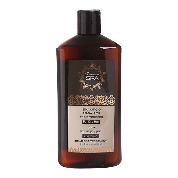 Шампунь для сухих волос с маслом марокканского аргана Shemen Amour (Шемен Амур) 500 мл