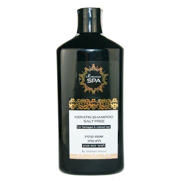 Кератиновый шампунь  для поврежденных волос Shemen Amour (Шемен Амур) 500 мл
