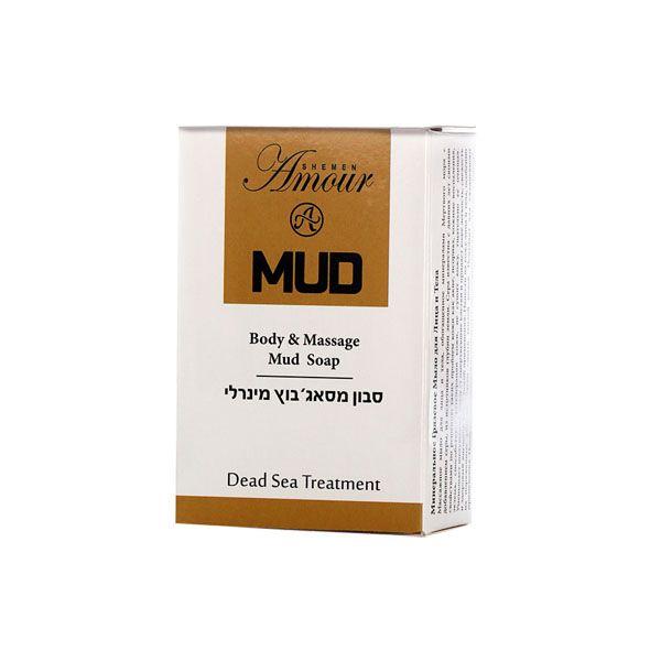 Грязевое мыло для тела и массажа Shemen Amour (Шемен Амур) 125 г
